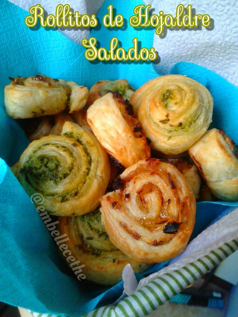 Embellecethe rollitos de hojaldre rellenos salados - Profiteroles salados rellenos ...