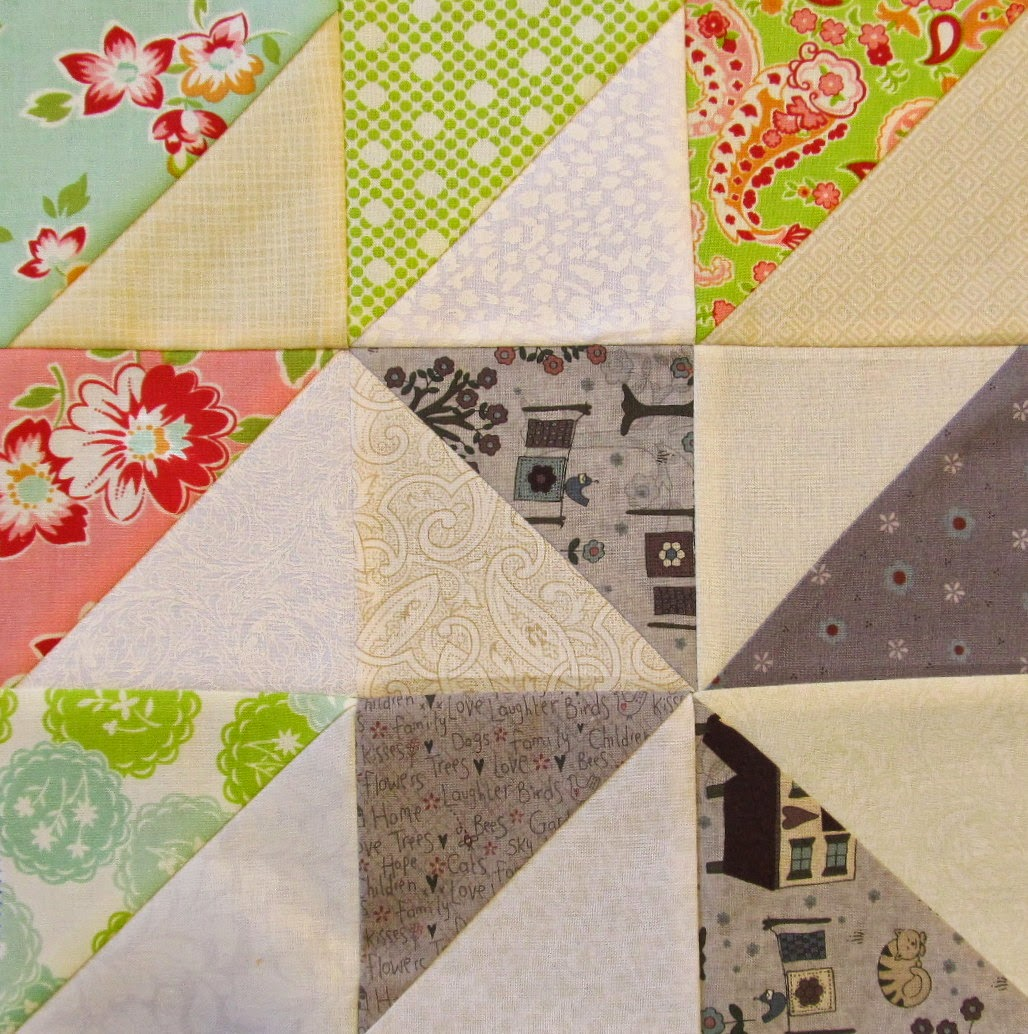 Triangle Quilt Pattern Tutorial