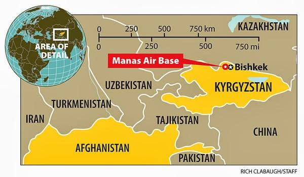 Base aérea dos EUA no Quirguistão é oficialmente fechada