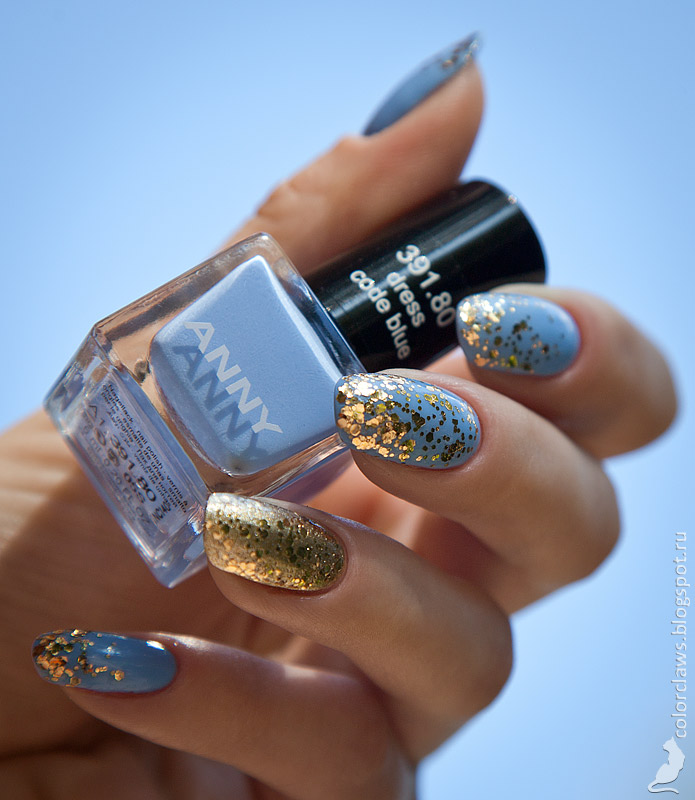 Anny #391.80 Dress Code Blue + Orly Luxe + Orly Too Fab