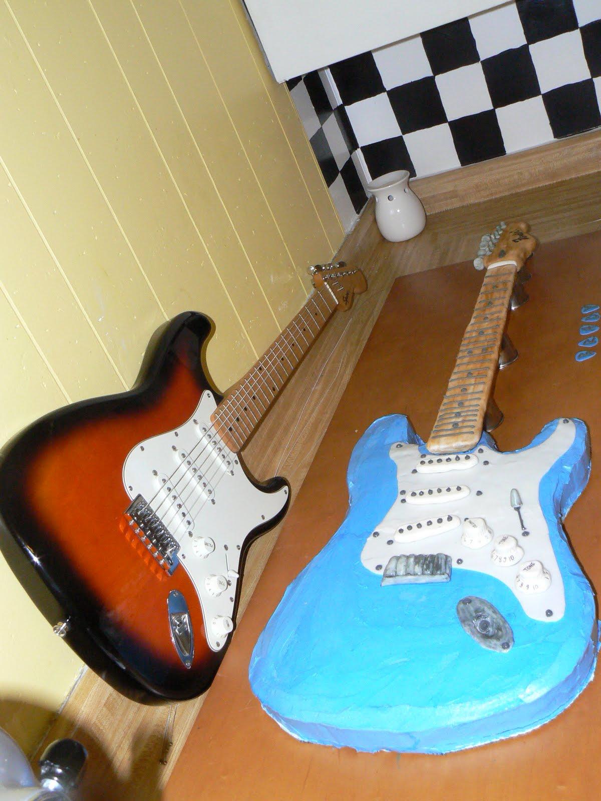 Bake Lore The Fender Stratocaster Of Cake