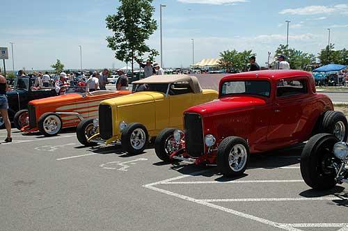 two Chevrolet 3100 Custom.