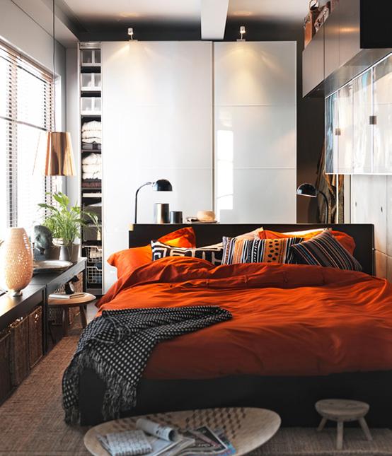 Id es d coration pour les petits appartements par ikea for Deco appartement ikea