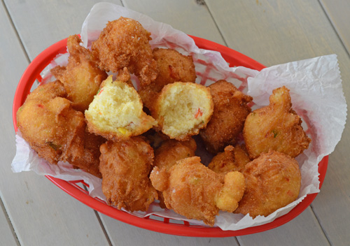 hushpuppies, hush puppies, how to make hushpuppies, deep frying tips