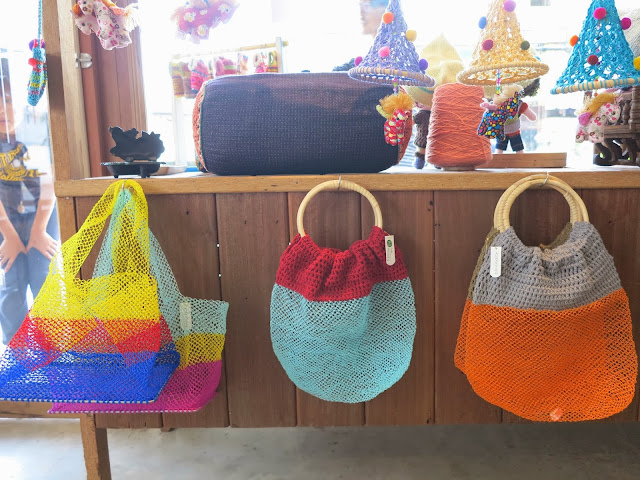 ByHaafner, crochet shop, Bantaktor, Chiang Mai, crochet bags