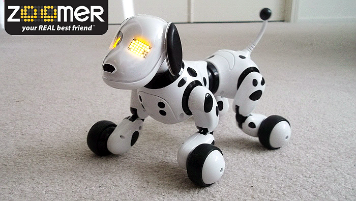 Zoomer the Robotic Dog