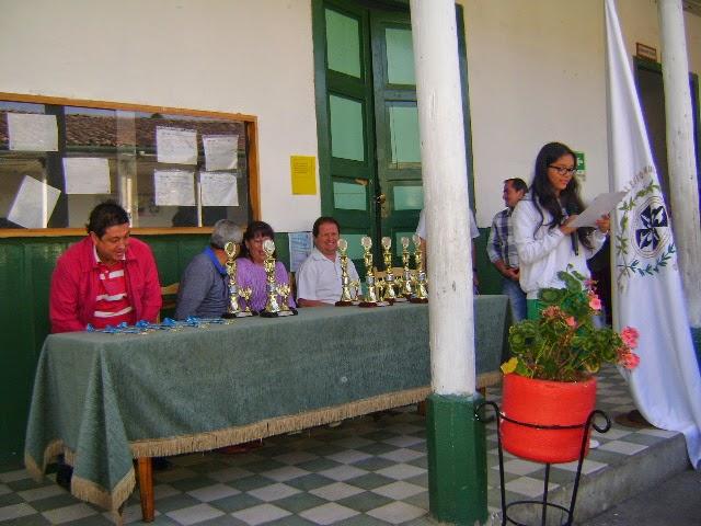 ACTO OFICIAL DE PREMIACION