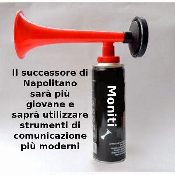 Napolitano, politica, comunicazione, satira