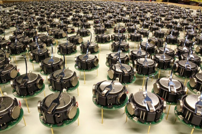 World's Largest Swarm of Robots Created