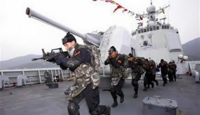 TNI AL: Kapal Perang China Kantongi Izin Latihan di Selatan Jawa