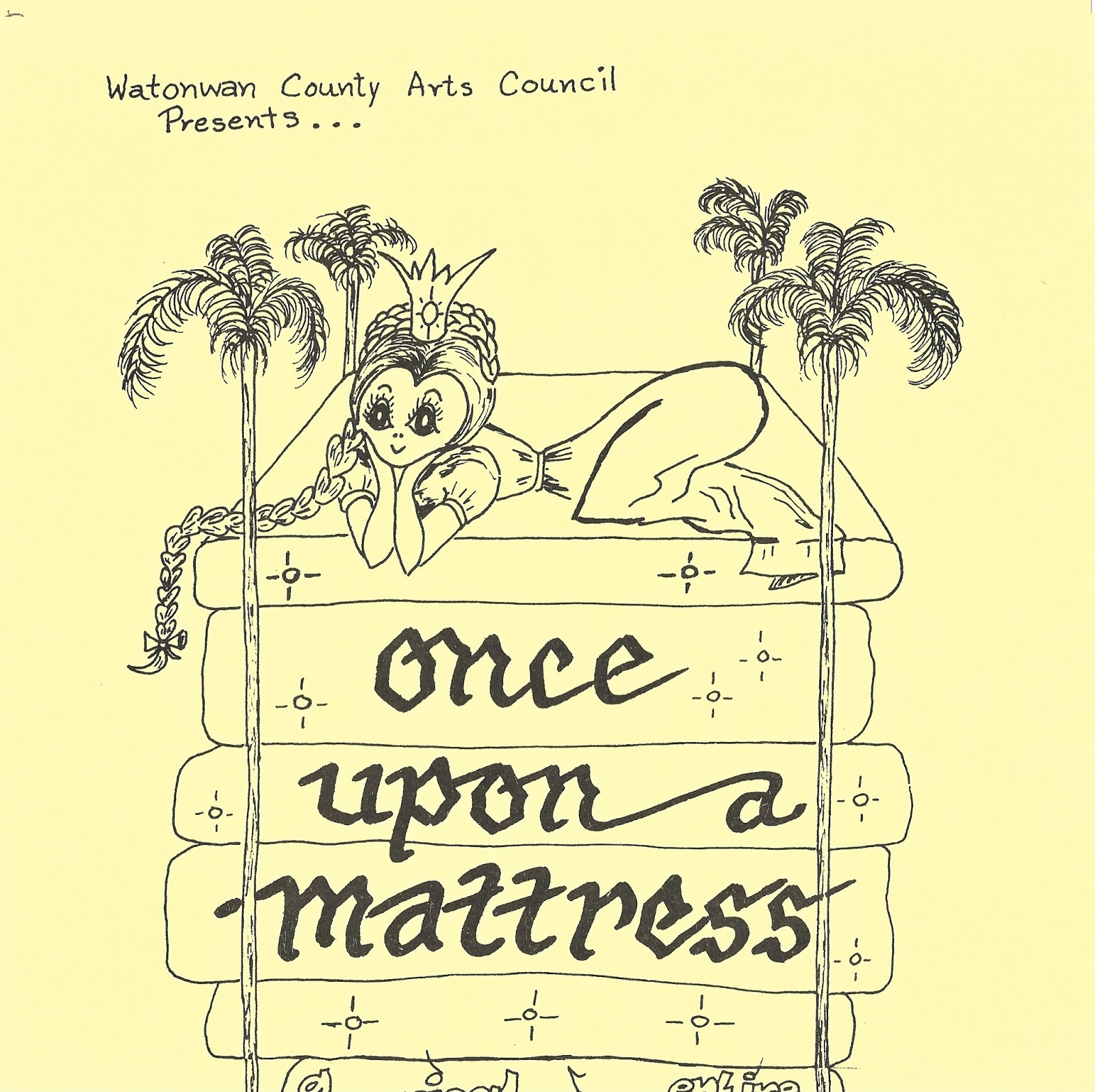 Once Upon a Mattress (1976). Photos by Keith Kuehl.