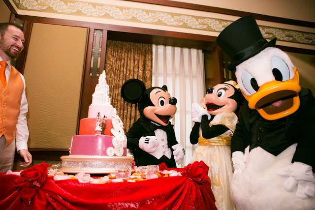 Disneyland Wedding - Cake Cutting {Root Photography}