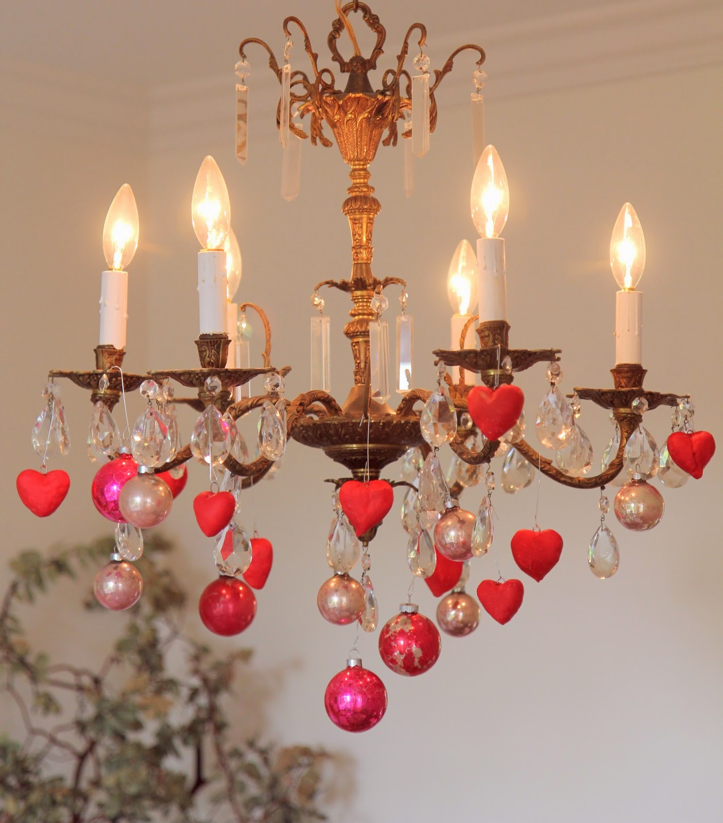 Heart Ornaments For Valentineu0027s Day Home Decor: DIY