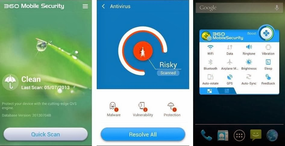 best antivirus app for android phones - 360 mobile security