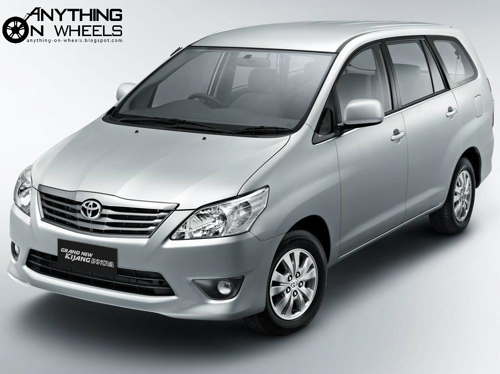 Anything On Wheels Toyota Innova Facelift Seen Testing In