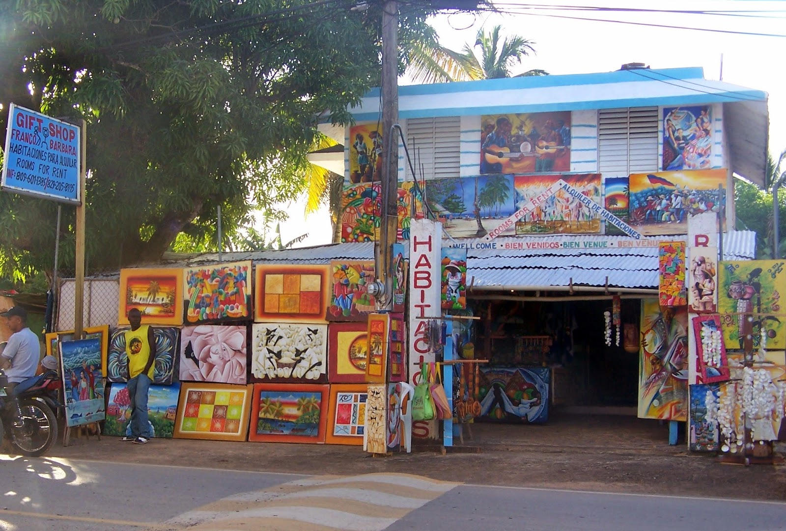 Haitianarts Cadre gift shop coutumes et traditions
