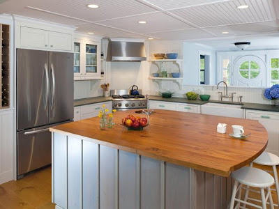 Comfortable kitchen design