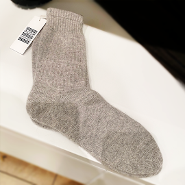 Goop cashmere socks.
