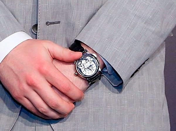 Jack Reynor's Montblanc Nicolas Rieussec chronograph watch -
