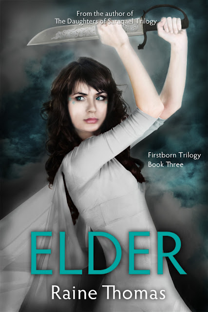 {Cover Reveal} Elder (Firstborn Trilogy #3) by Raine Thomas