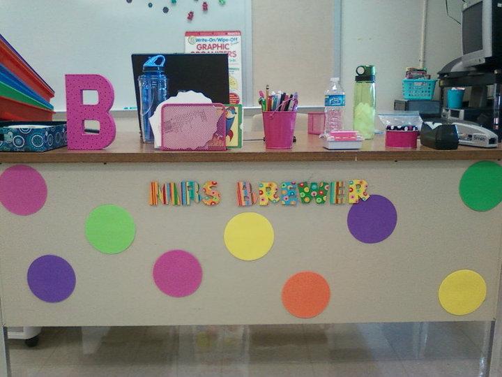 Classroom Decoration For Teachers : Teacher desk decorating ideas pinterest picture yvotube