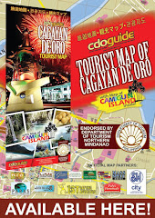 CDO Guide Tourist Map of Cagayan de Oro and Camiguin Island