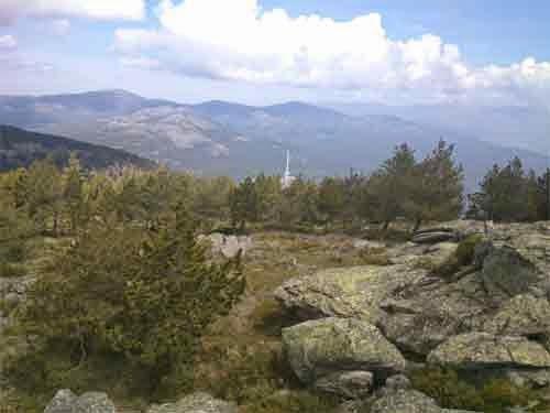 vistas de El Valle de los Caídos