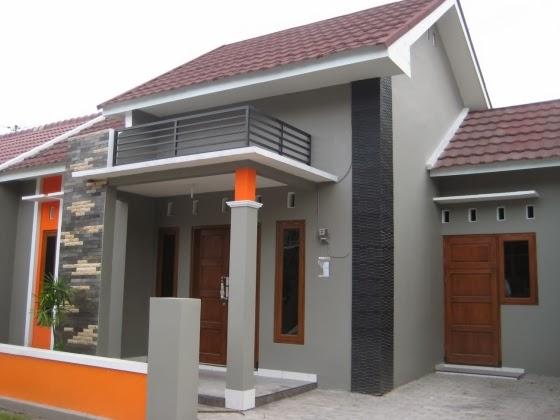 cat eksterior rumah minimalis