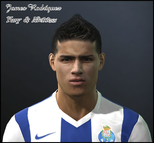 James Rodriguez Face by Yury & nickless