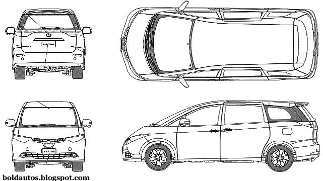 Bold autos toyota estima toyota estima blueprint malvernweather Image collections
