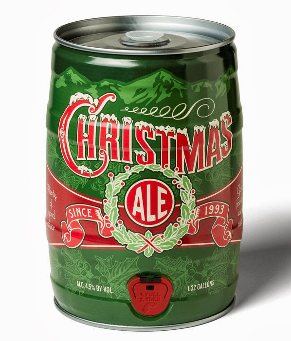 breckenridge christmas ale mini keg - Breckenridge Christmas