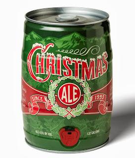 Breckenridge Christmas Ale Mini-keg