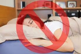 مخاطر النوم علي البطن بالنسبة للبناتمخاطر النوم علي البطن بالنسبة للبنات