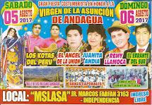 VIRGEN DE LA ASUNCIÓN DE ANDAGUA 2017