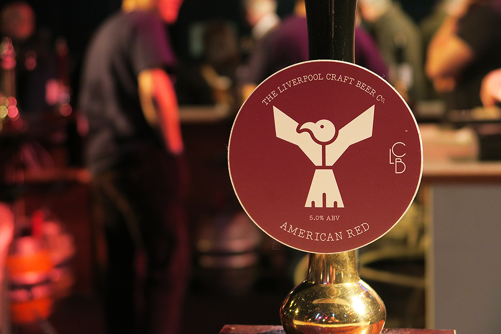 Liverpool Craft American Red Beertown Malton March 2015 at Milton Rooms
