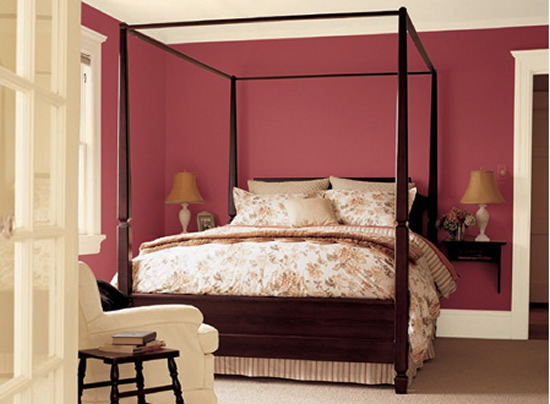 Paint color schemes popular home interior design sponge for Bedroom paint color ideas