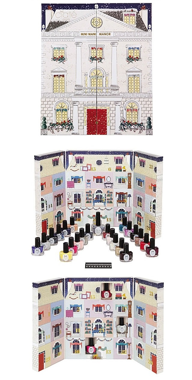 Ciaté Mini Mani Nail Polish Advent Calendars 2014 | Polka Spots and ...