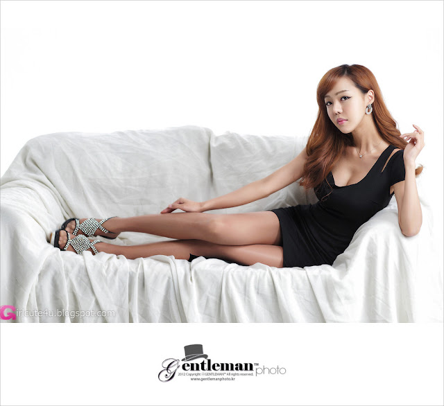 1 Seo Jin Ah in Black-Very cute asian girl - girlcute4u.blogspot.com