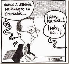 """Dedicado a los """"genios"""" responsables de la educación argentina de hace un buen tiempo a esta parte"""