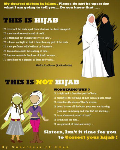 Hijab ..betul dan salah..