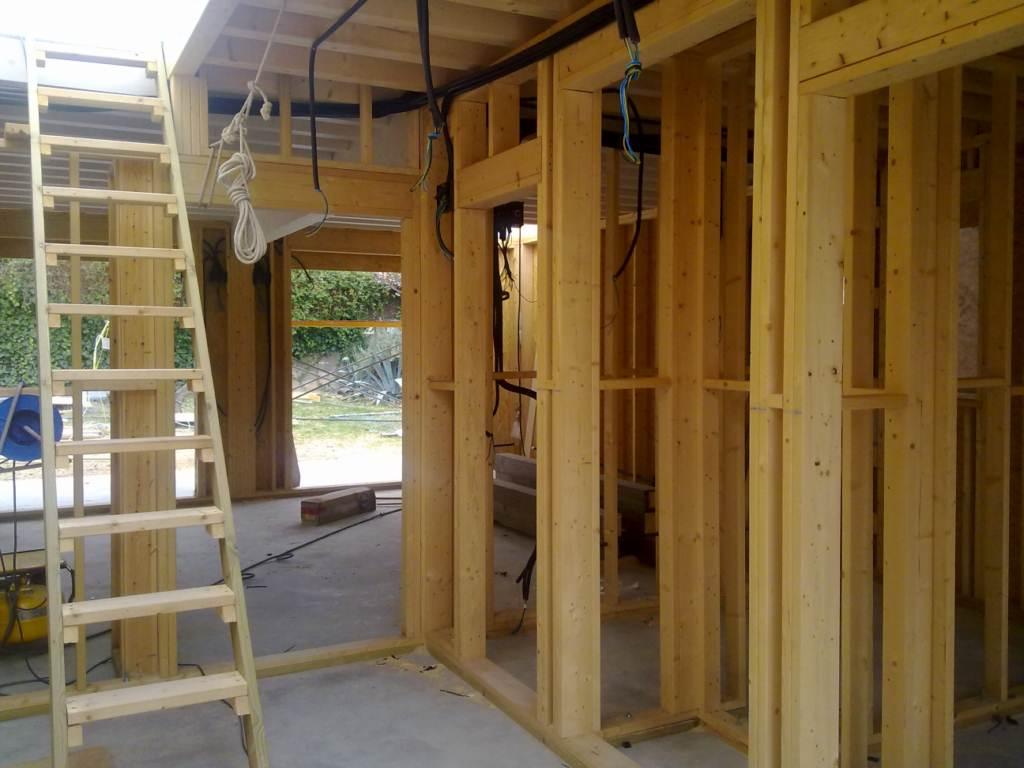 Construcci n de casa de madera en zaragoza dpv - Casas de madera zaragoza ...