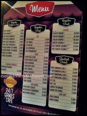Kuliner jogja legend cafe rina chabbymutz for Z kitchen jogja menu