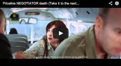 Priceline Negotiator Death commercial with William Shatner