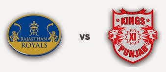 IPL 8: Rajasthan Royals vs Kings XI Punjab live score
