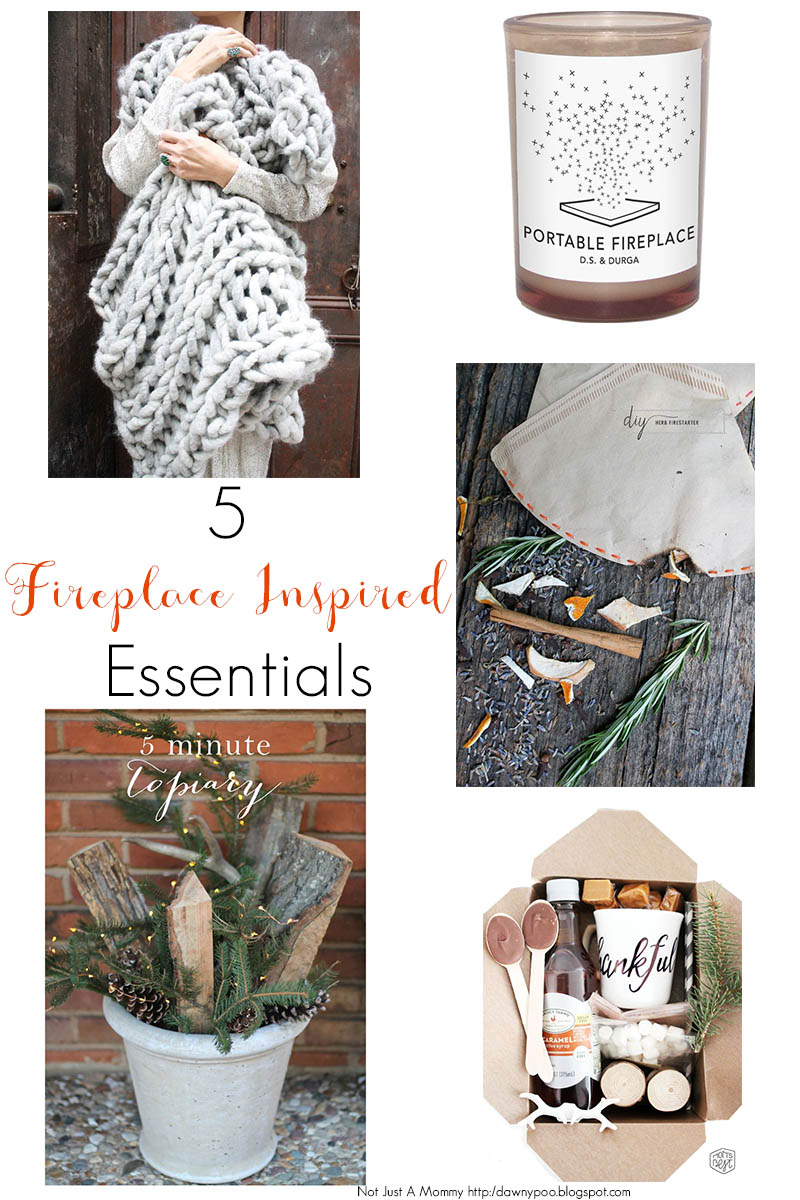 5 Fireplace Inspired Essentials