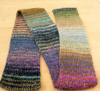 Annotated Tips for Knitting the Noro Scarf