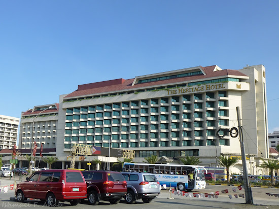 The Heritage Hotel located along EDSA, Pasay