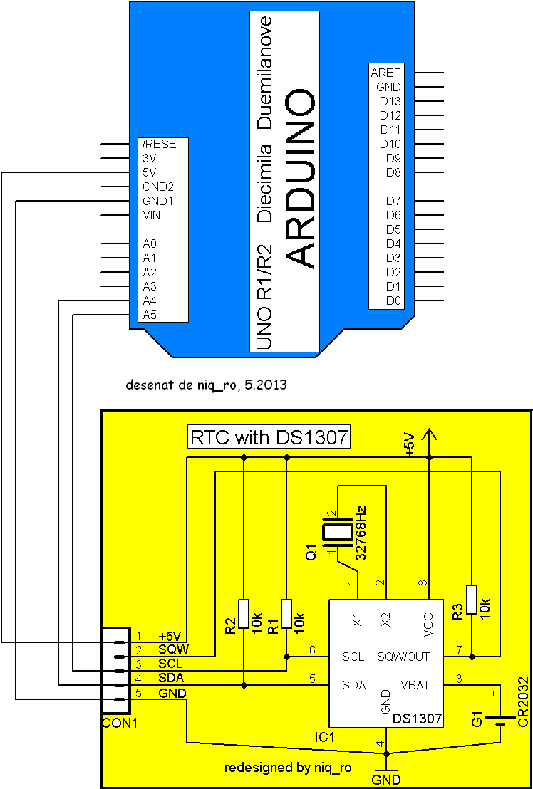 Fritzing Project Reading PC Fan RPM with an Arduino