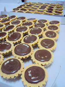 Untuk Tempahan : Nutella @ Choclate Cheese Tart