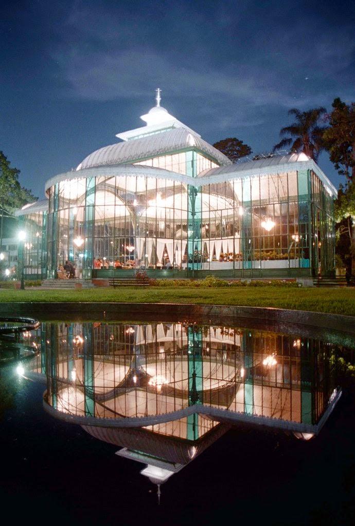 Palácio de Cristal - Petrópolis RJ (Arquivo TurisRio)